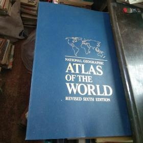 NATIONL GEOGRAPHIC ATLAS OF THE WORLD