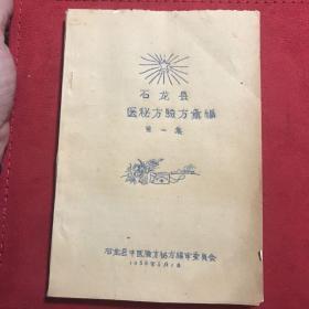 (广西)石龙县中医秘方验方汇编