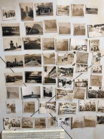 民国抗战时期原版老照片:国民革命军阵亡将士公墓等南京照片53张