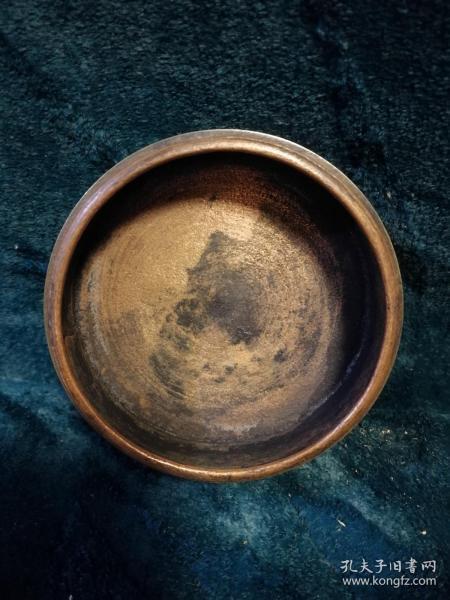民国时期铜制印泥盒