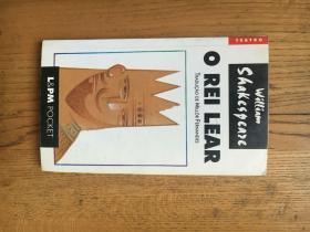 O Rei Lear  (李尔王)威廉·莎士比亚(William Shakespeare)【葡萄牙语版】
