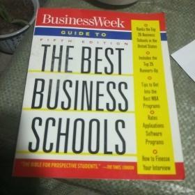 英文原版:the Best Business Schools