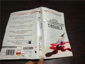 英法德意等原版外文《 Trouble 》by Jesse Kellerman 著 SPHRE 2008年 40开平装
