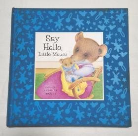 精装纸板书Say Hello, Little Mouse
