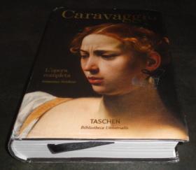 2手意大利文 Caravaggio Lopera completa 卡拉瓦乔 小本 aa106