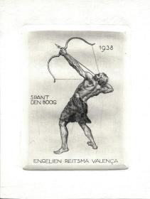 Engelien Reitsma Valenca藏书票原作2