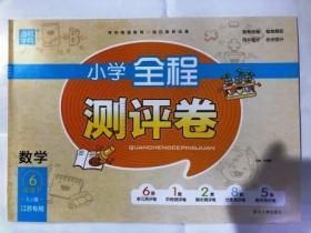 2019 通城学典 小学全程测评卷 数学 6年级下 SJ版  江苏专用