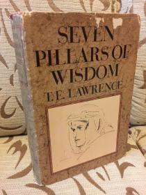 Seven pillars of wisdom by Thomas Edward Lawrence 劳伦斯《智慧七柱》doubleday出品 精装本