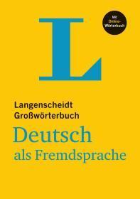 德国原版 朗根沙伊特 德文 德语 德德大词典 Langenscheidt Großwörterbuch Deutsch als Fremdsprache - mit Online-Wörterbuch: Deutsch-Deutsch