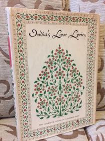 Indias Love Lyrics -- The Immortal Poems of Laurence Hope -- 劳伦斯 霍普 《印度爱情诗歌集》1942年老版 此版无彩插