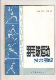 羽毛球运动技术图解(1988年1版1印)