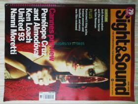 外文杂志期刊英文杂志 Sight & Sound 2006/06 视觉听觉画面音响电影原版外文期刊杂志