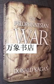 Donald Kagan  唐纳德卡根   :  The Peloponnesian War  伯罗奔尼撒战争史  原版精装本带封套  私藏品好