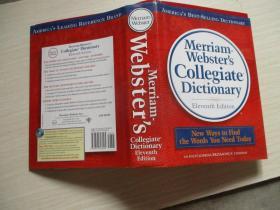 Merriam-Webster's Collegiate Dictionary, 11th Edition【038】16开本精装本厚册 无涂画品好