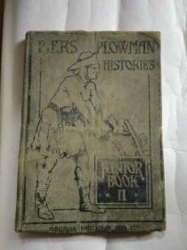 (1922年英文原版)PIERS  PLOWMAN  HISTORIES   JUNIOR   BOOK  II
