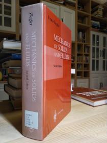 精装大厚本800多页固体与流体力学 Mechanics of Solids and Fluids