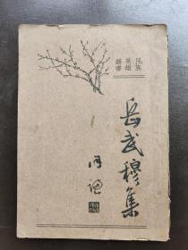 民族英雄丛书:岳武穆集