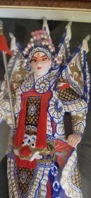非物质文化遗产、泥人张京剧戏曲人物马超、造型精美、做工大气
