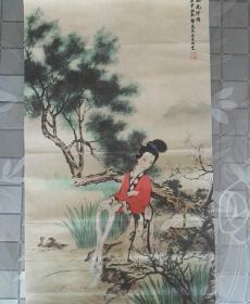 名人字画,郭慕熙一代大师水墨画作品