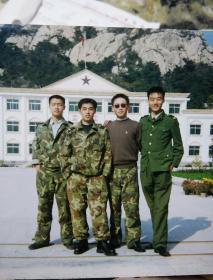 山东某部队军人老照片