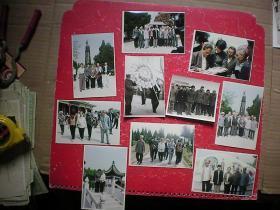 林颖 彭小枫1982年清明节于彭雪枫陵园献花圈等10张照片