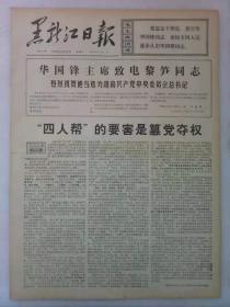 《黑龙江日报》第3626期1976年12月22日老报纸