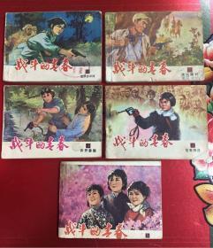 天津版 战斗的青春 1-5全套