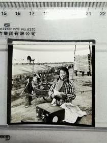 1976宿县水利工地上的女播音员