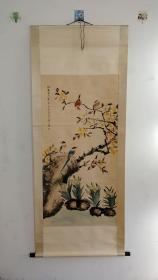 花鸟画一幅