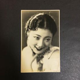 民国时期胡蝶美人老照片