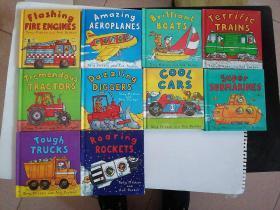 英文原版绘本 Amazing Machines 神奇的机器精装 10册