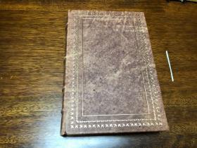 The Frontier In American History   真皮精装收藏版, 书口三面刷金,能保存数百年的存档级别的无酸纸