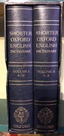 Shorter Oxford English Dictionary - Deluxe Edition