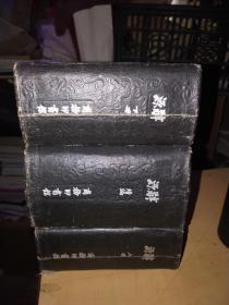 辞源 上下+续 全3册    (民年22年国难后第八版)