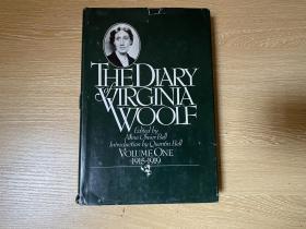 (私藏贴藏书票)The Diary of Virginia Woolf:1915-1919  伍尔芙日记,卷一,董桥说流露的才情比她的作品还要深刻