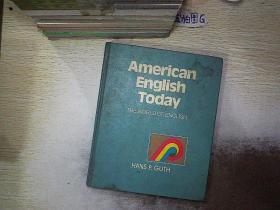 AMERICAN ENGLISH TODAY 今天的美国英语