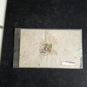 普8(9-5)《工农兵图案普通邮票.陆军战士》1962.10上海12区局寄本埠218支局实寄封