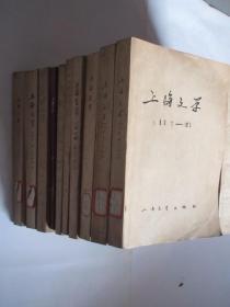 上海文学     1979-1991年   共133期  24本合订本  详见描述