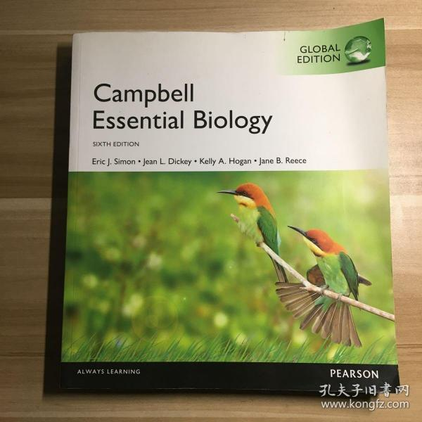 Campbell Essential Biology  sixth edition