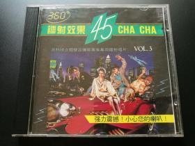 360镭射效果45CHA CHA  CD
