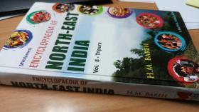 (中亚突厥语、高加索语言、斯拉夫语、印欧语、南亚语言)英语英文原版,印度东北部百科全书,Encyclopaedia of North-East India,特里普拉邦,Tripura
