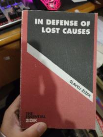 英文原版 IN DEFENSE OF  LOST CAUSES