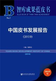 中国皮书发展报告(2019)