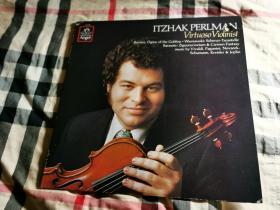 当今第一小提琴演奏家 小提琴王子 帕尔曼 亲笔签名黑胶唱片