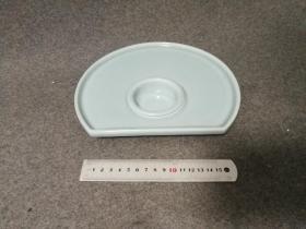 日本 半月皿 青瓷 小钵