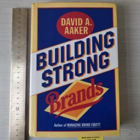 Building strong brands 如何创立大品牌 品牌战略 精装 英文原版