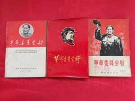 革命委员会好3本不同合售