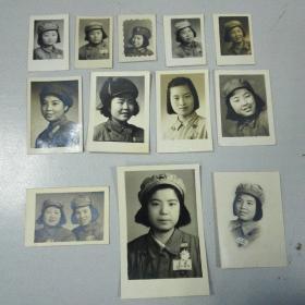 五十年代漂亮女兵美女照片20张