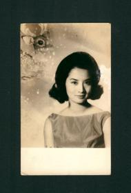 金庸的梦中情人 夏梦照片 香港原版老照片,罕见