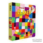 Elmer Board Book Board book 英文原版